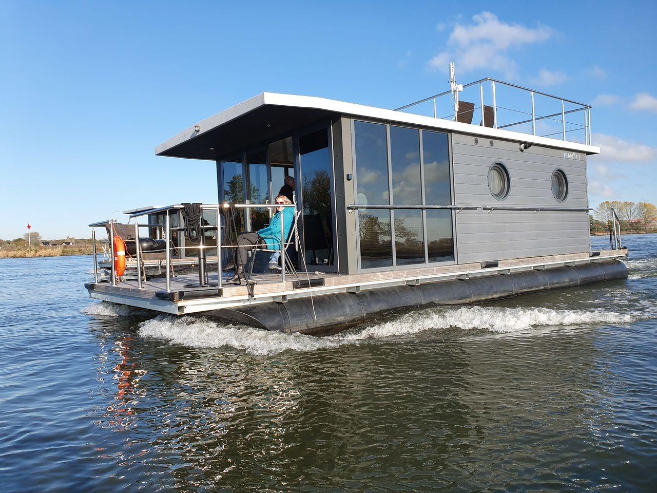 houseboat mazury